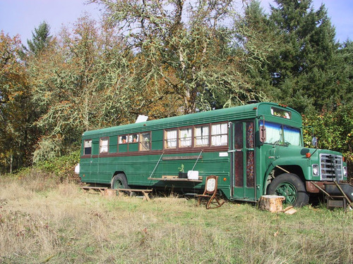 Transportation: Enchanted Gypsy's Converted Schoolbus